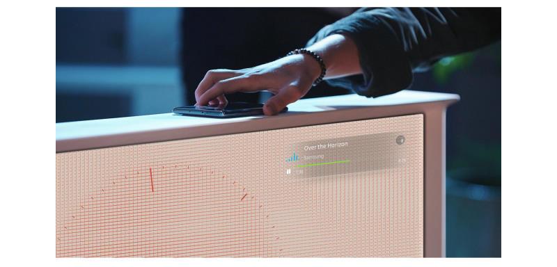 Телевизор QLED Samsung The Serif QE55LS01TBU