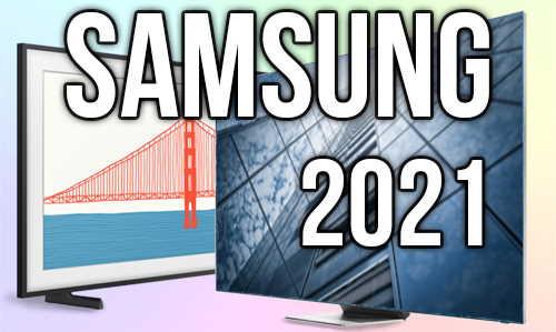 Модельный ряд телевизоров Samsung 2021 года