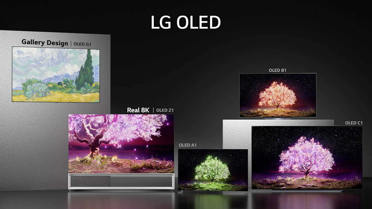 новые модели телевизоров lg 2021 года